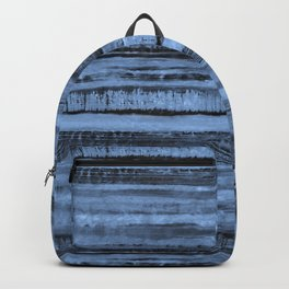 Expressive Inverted Watercolor Stripe Backpack