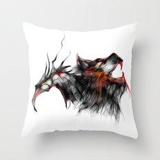 cool sketch 123 Throw Pillow