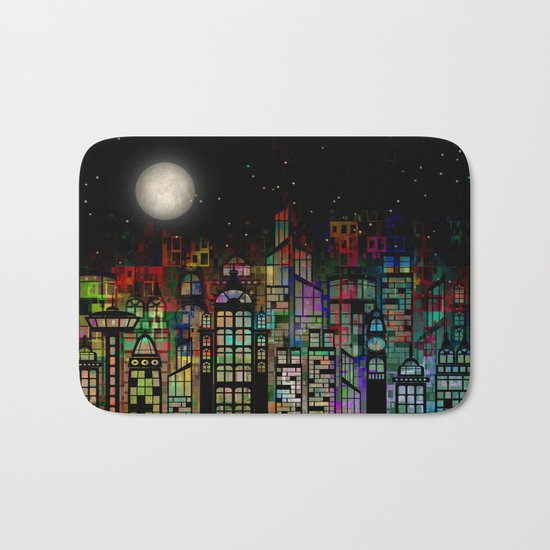 Fairytale City Bath Mat