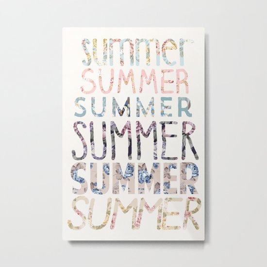 Summer, Summer, Summer.  Metal Print