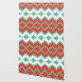 Ikat Wallpaper
