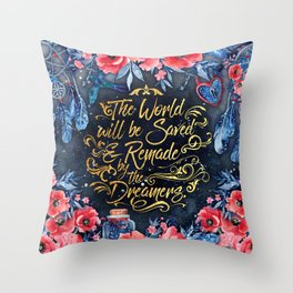 Saved by the Dreamers Throw Pillow