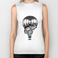 neverland Biker Tanks featuring Trip to Neverland  by YelenaYork