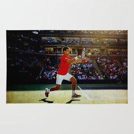Novak Djokovic Tennis Rug