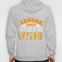 Vintage 1968 T-Shirt. Birthday Gift Hoody