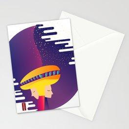 Gemini Human Stationery Cards