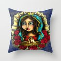 Lady Of Guadalupe (Virgen de Guadalupe) BLUE VERSION by gabrielaashillustrations