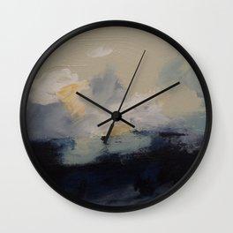 Storm over Georgian Bay Wall Clock