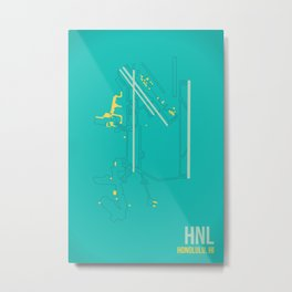 HNL Metal Print