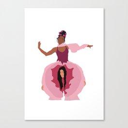 Pynk Minimalist: Janelle Monae & Tessa Thompson Canvas Print