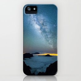 La Palma Milky Way iPhone Case
