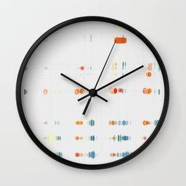 Fish Move Wall Clock