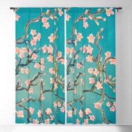 Apple Blossom Blackout Curtain