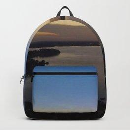 Lake Norman Sunset 2 Backpack