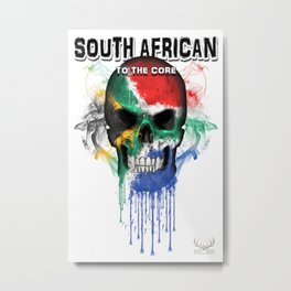 To The Core Collection: South Africa Metal Print