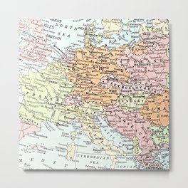 European tour Metal Print