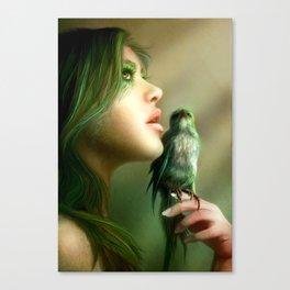 Green Whisper Canvas Print