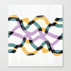 Weave abstract art Canvas Print