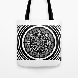 Modern Mandala Tote Bag