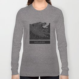 Adelaide map Long Sleeve T-shirt