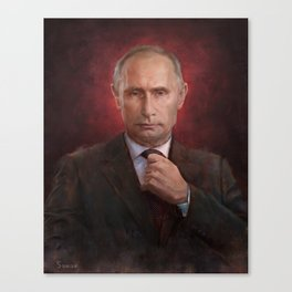 Putin Time Person of the Year Cover Canvas Print