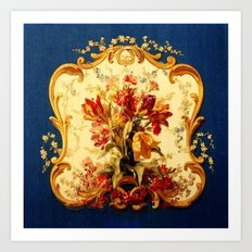Baroque Panel Art Print