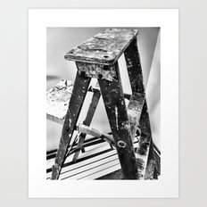 Painter's Ladder Art Print