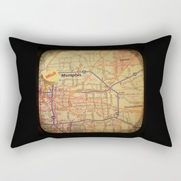 Hello Memphis Rectangular Pillow