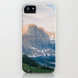 Hidden Lake, Glacier National park iPhone Case