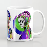pop art Mugs featuring Pop by Steve W Schwartz Art