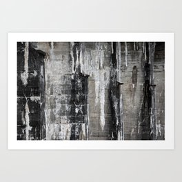 Pillar Shades Art Print