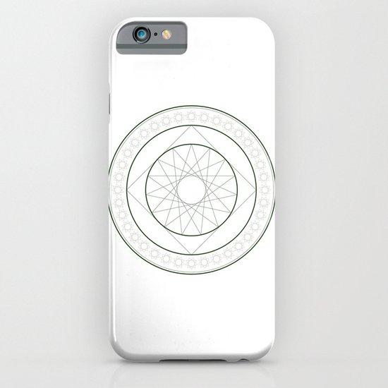 Anime Magic Circle 4 iPhone & iPod Case