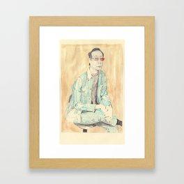 cannibal fashion - Issei Sagawa Framed Art Print