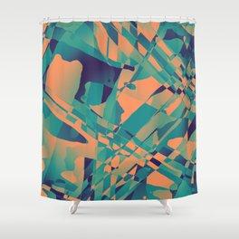 Heavy Distortion Shower Curtain