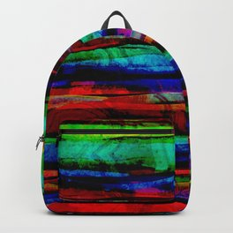 colorful bohemian pattern Backpack