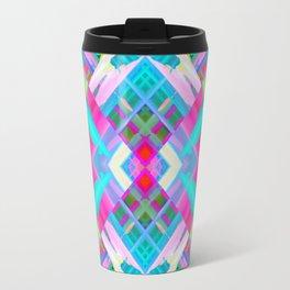 Colorful digital art splashing G481 Travel Mug