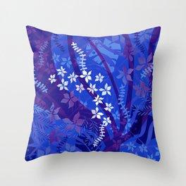 Hawaiian Swirl Throw Pillow
