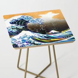 The Great Wave Side Table