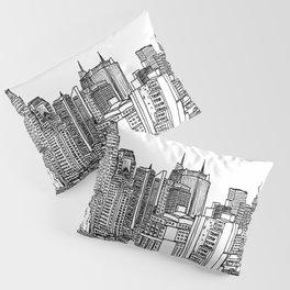 New York View 2 Pillow Sham