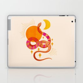 Abstraction_SUN_MOON_SNAKE_Minimalism_001 Laptop & iPad Skin