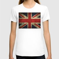 union jack T-shirts featuring Union Jack by Bethan Eastwood