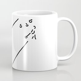 curling curling winter sports Coffee Mug