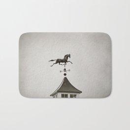 Horse Weathervane Bath Mat