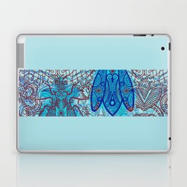 House Fly under Lace Curtains  Laptop & iPad Skin
