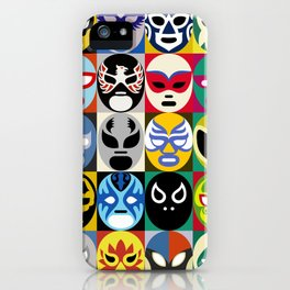 Lucha Libre 2 iPhone Case