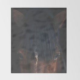 Horse - Cheyenne Throw Blanket