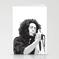 marley Stationery Cards featuring Marley Music by Mark Lucas