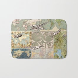 Flight Patterns Bath Mat