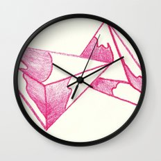 CRAYON LOVE: Strawberry Milk From The FUTURE Wall Clock