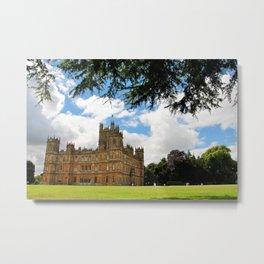 Highclere Castle Downton Abbey England UK Metal Print